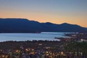 Kelowna Night View