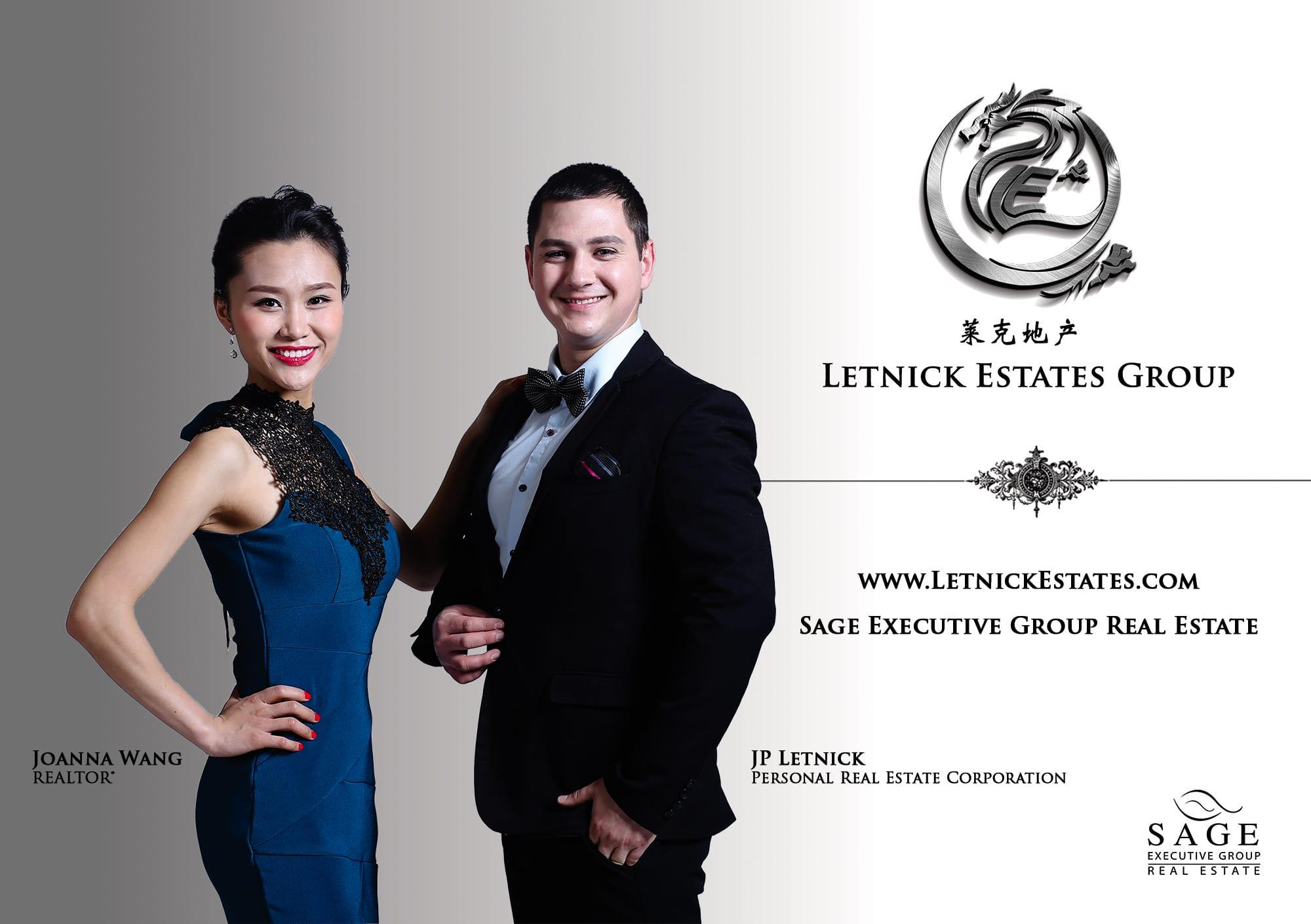 JP Letnick and Joanna Wang Kelowna Realtor® Team