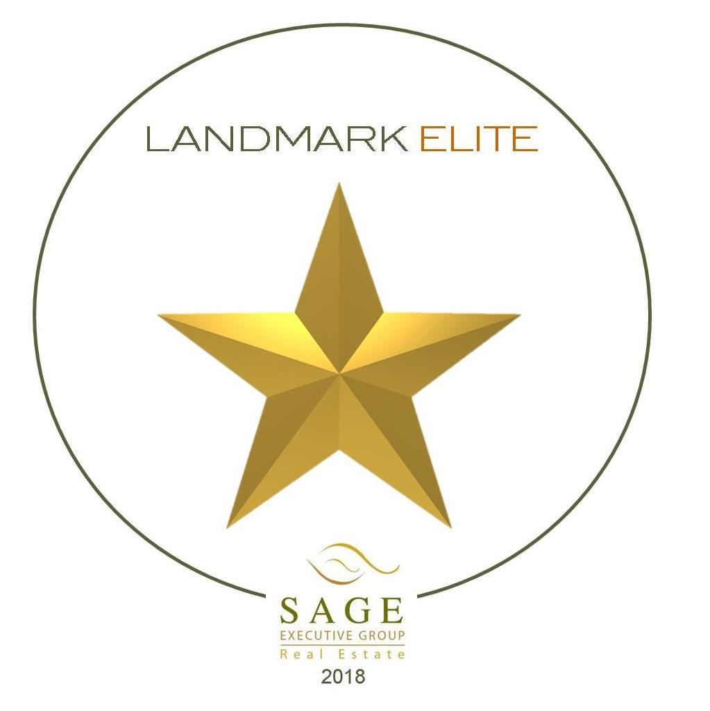 Landmark Elite Real Estate Award JP Letnick 2018